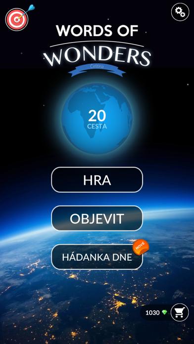 Screenshot for Words Of Wonders: Krížovka in Czech Republic App Store