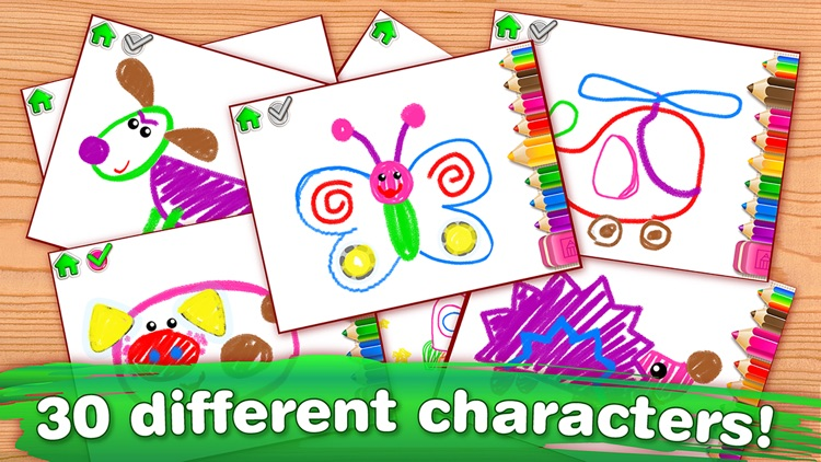 DRAWING FOR KIDS Games! Apps 3 screenshot-4