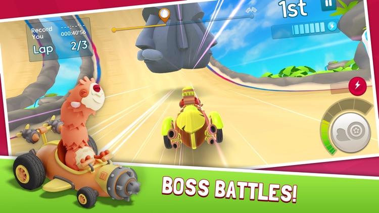 Starlit On Wheels: Super Kart screenshot-6