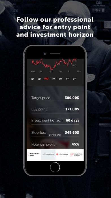 Dominant investorsScreenshot of 4