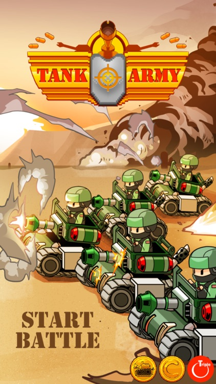 Tank Army - Fast Fingers Shmup screenshot-7