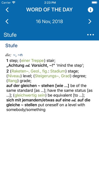 Conc. Oxford German Dictionary screenshot-3