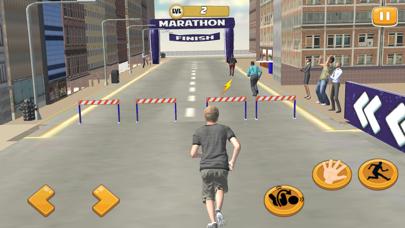 Marathon Training Straße RasseScreenshot von 1