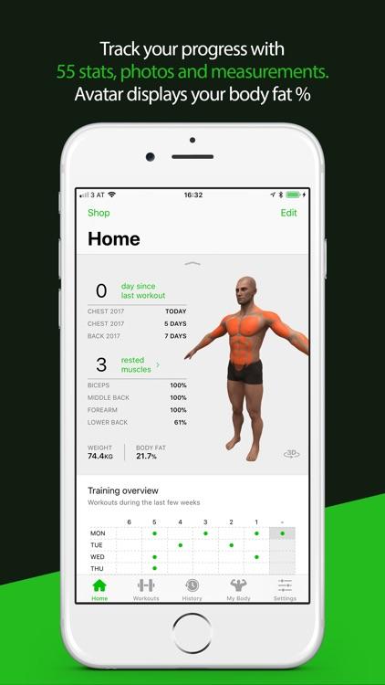 Gymaholic Workout Tracker