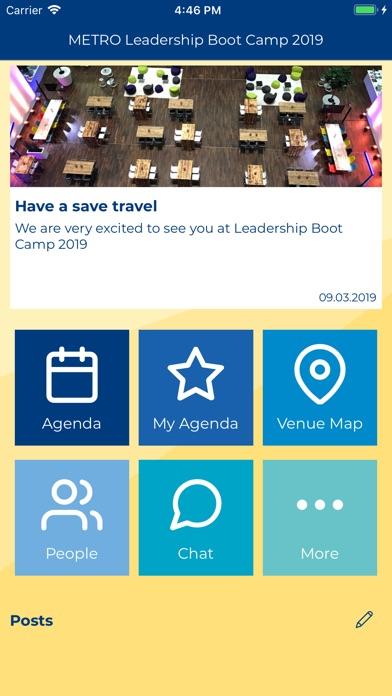 METRO Leadership Boot Camp screenshot #1