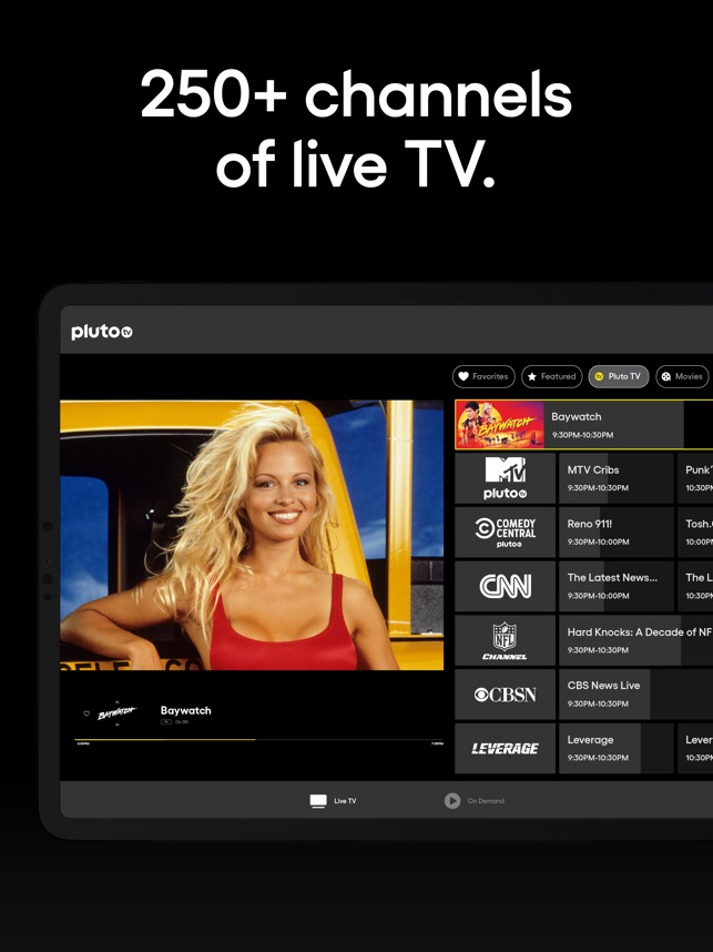 free live tv apps for ipad