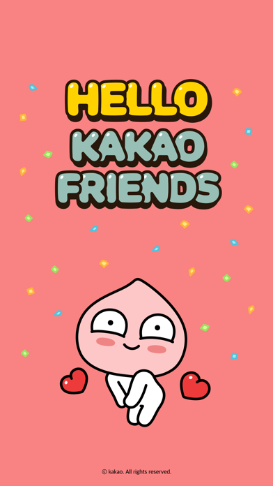 Hello Kakao Friends Screenshot