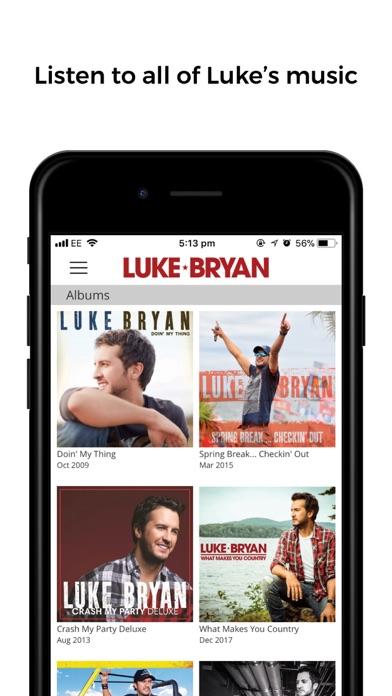 Luke Bryan Screenshot