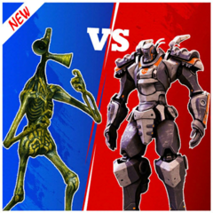Siren Head Vs Robot Battle 3D