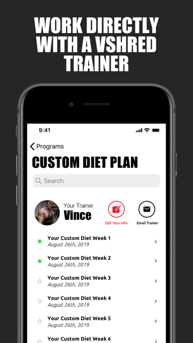V Shred: Diet & Fitnessのおすすめ画像5