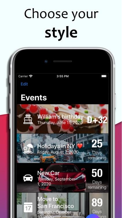 Days counter app