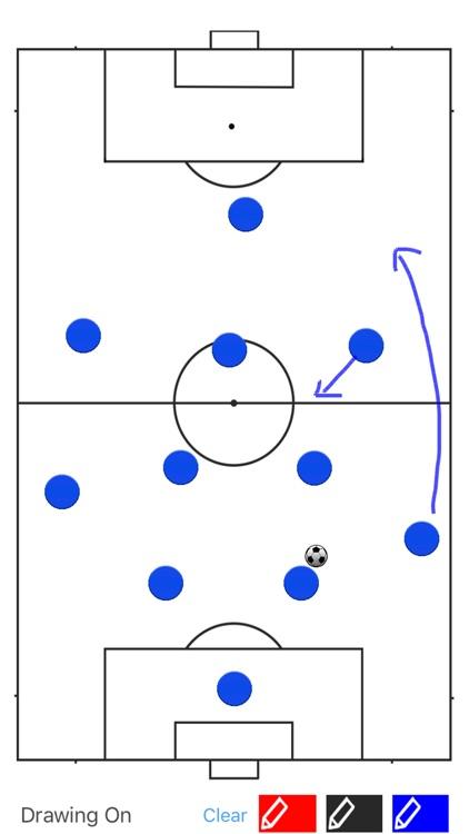 Soccer Coach Tactic Board