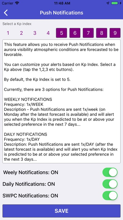 Aurora Forecast & Alerts screenshot-5