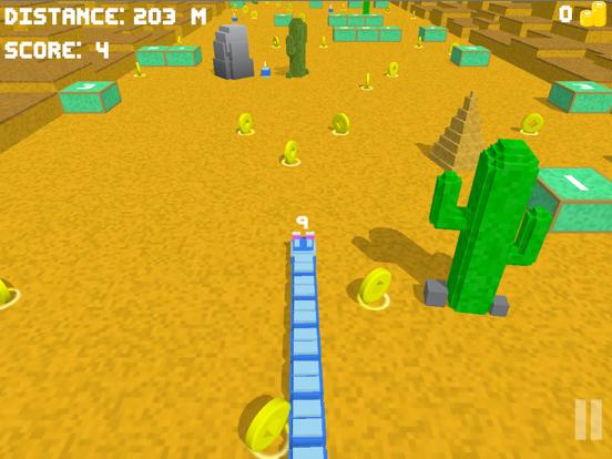 Blocky Snake 3D screenshot #2