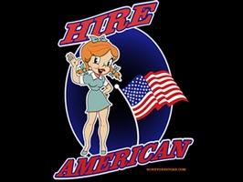 American Retro Style Stickers