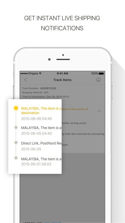 DHgate-Online Wholesale Stores screenshot-3