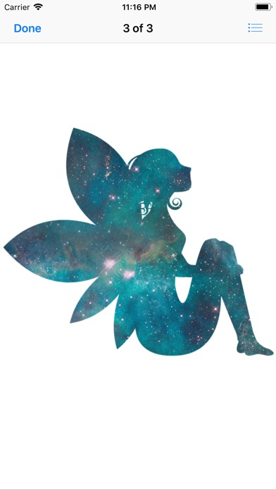 Colorful Fairy Stickers app image