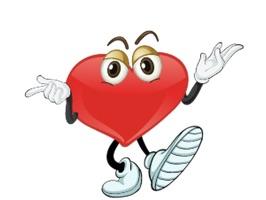 Heart Felling Sticker is pretty