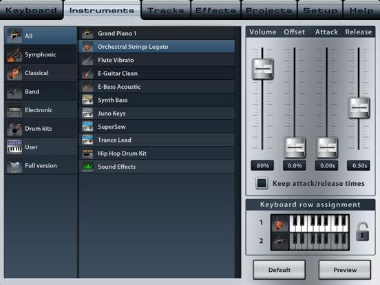 Music Studio Lite screenshot