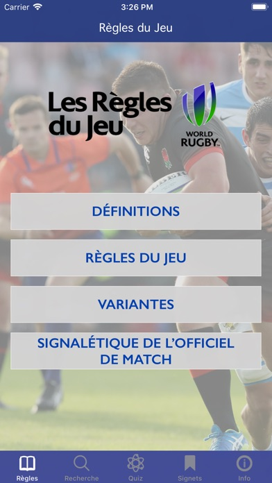 Screenshot for Règles du Jeu in Lebanon App Store