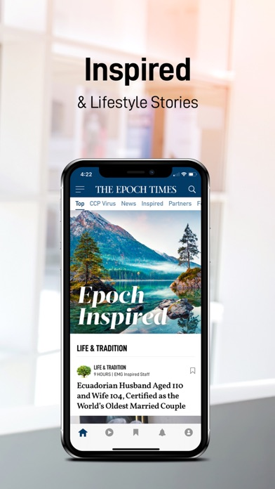 Epoch Times: Live & Breaking Screenshot