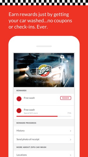 Zips Car Wash En App Store