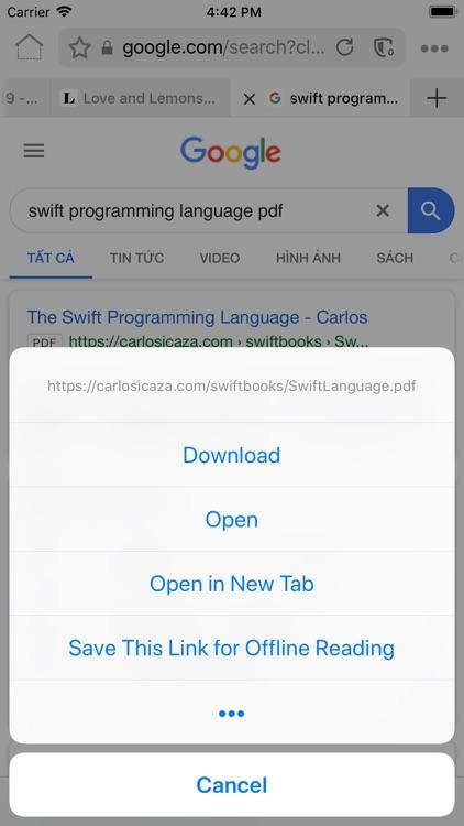 RedApp Web Browser screenshot-6