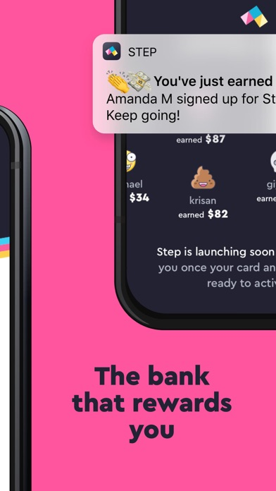 Screenshot for Step - Mobile Bank for Teens in United States App Store