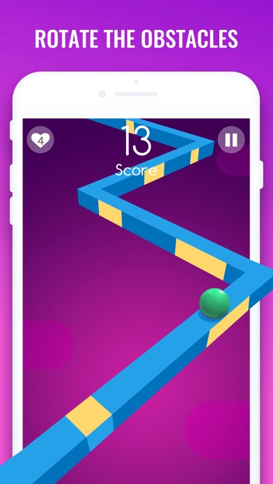 Spin Race – Zig Zag Drift Line 1