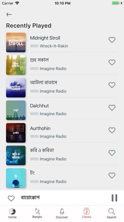 Imagine Radio screenshot-4