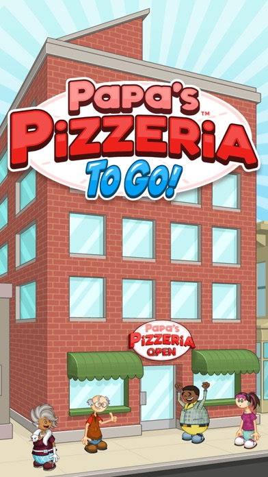 Papa's Pizzeria To Go! app image