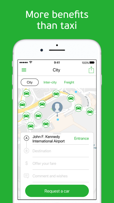Screenshot for inDriver: Offer your fare in Ireland App Store