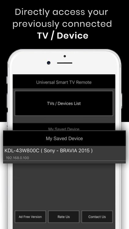 Universal TV Remote Control :