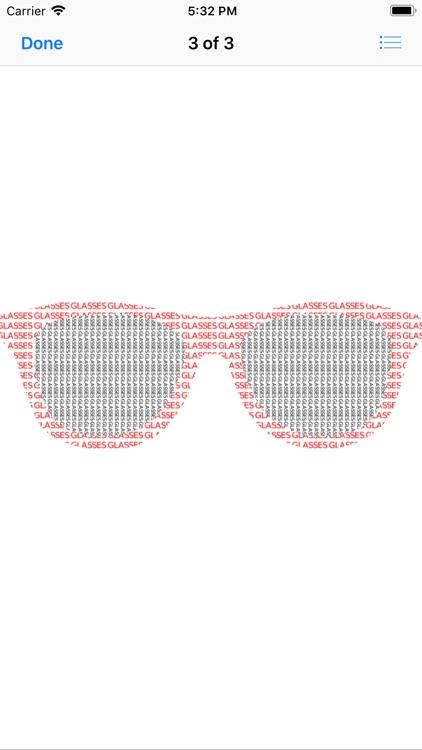 Eye Glass Stickers screenshot-4