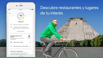 Screenshot for Google Maps - trafico y comida in Ecuador App Store