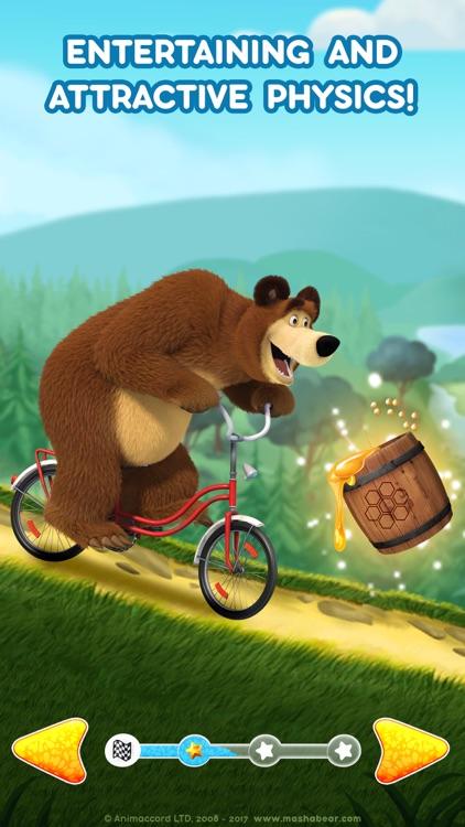 Masha and the Bear: Car Games screenshot-5