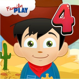Cowboy Grade 4 Learning Games