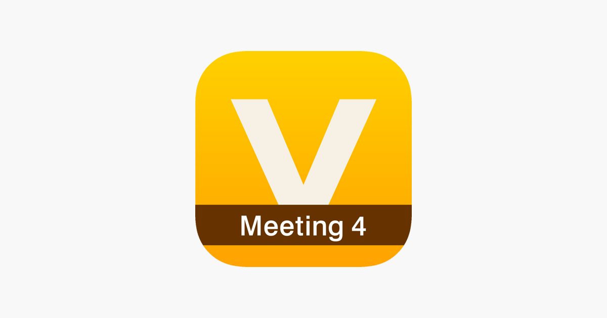 V-CUBE Meeting 4 on the App Store