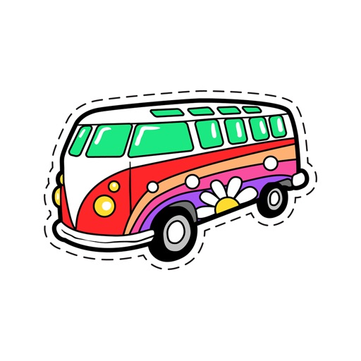 Hippie Life - GIFs & Stickers