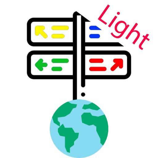 Road signs world Light