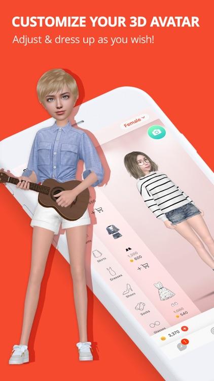 Meing - 3D Avatar & Chat screenshot-3