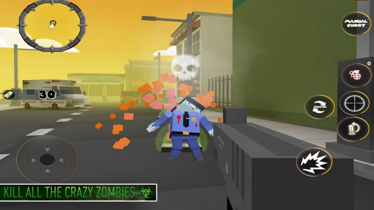 Pixel War Combat: Zombie Survi