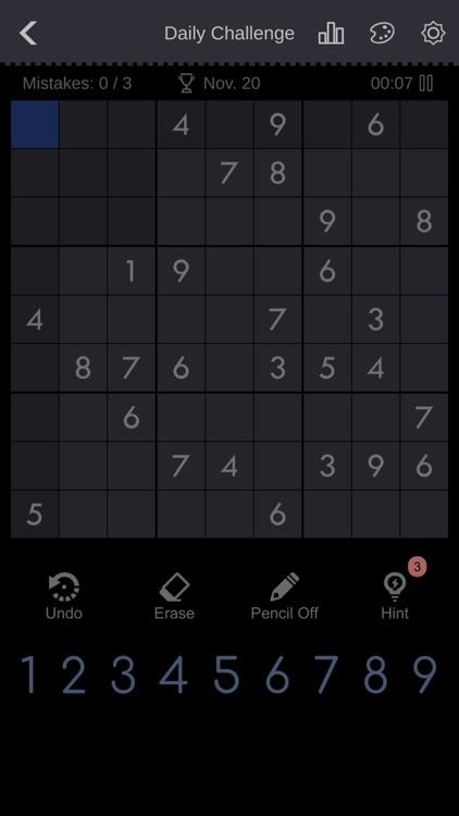 Sudoku - Brain Puzzle Games screenshot-7
