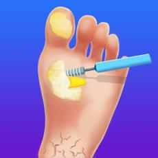 ハイパーカジュアルゲーム「Foot Clinic」