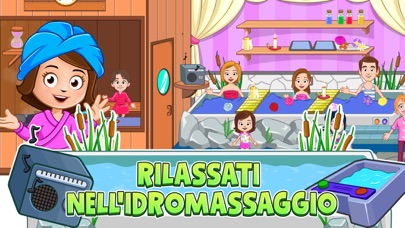 Screenshot for My Town : Beauty Spa Saloon in Italy App Store