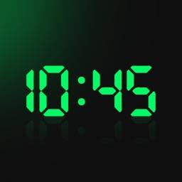 Digital Clock - LED Widget