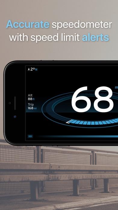 Speedometer One screenshot one