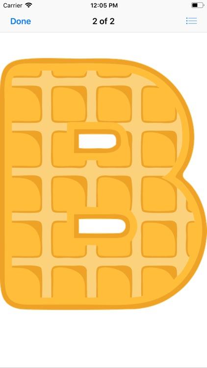 Waffle Letters screenshot-3