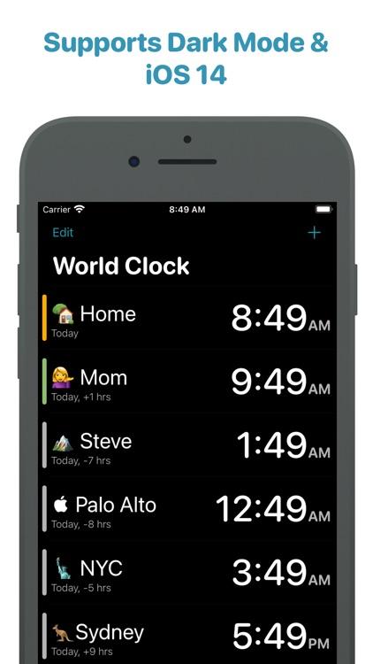 World Clock Time Widget screenshot-5