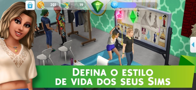 ‎The Sims™ Mobile Screenshot